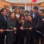 Inauguración casas en Catapilco