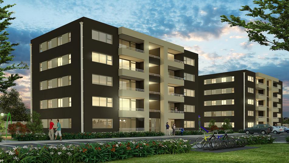 Proyecto inmobiliario de departamentos en Quillota