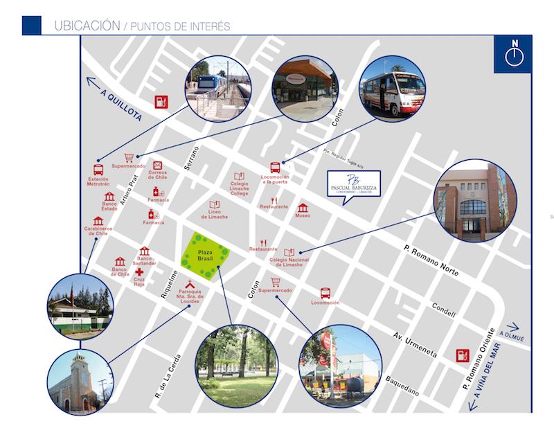 Mapa Ubicación Pascual Baburizza