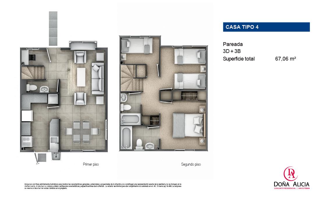 Casa Tipo 4